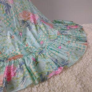 Vanity Fair Nylon Nightgown vintage 70s lingerie